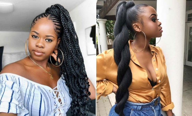 23 Cool Black Ponytail Hairstyles You Have To Try Stayglam