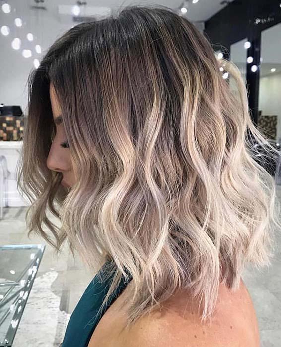 Bright Blonde Ombre Hair Idea