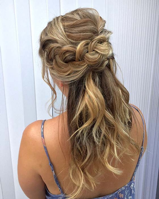 Caramel Blonde Hair Idea