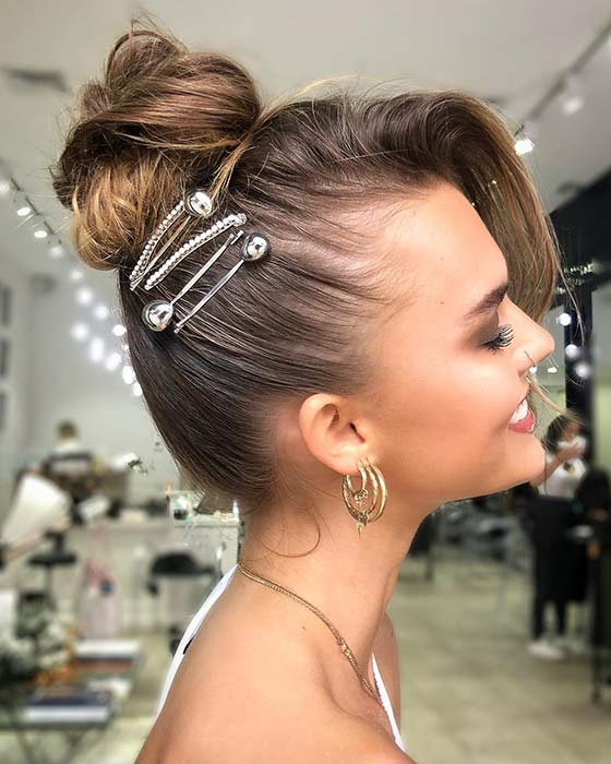 Cute And Accessorized Updo
