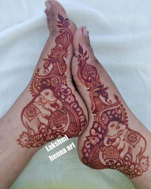 Pretty Elephant Design Idea