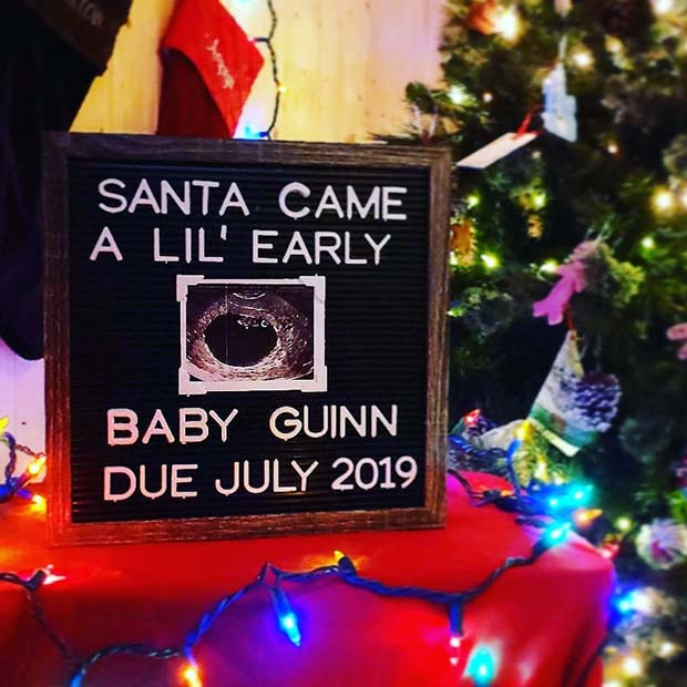 41 Christmas Pregnancy Announcement Ideas Page 4 Of 4 Stayglam