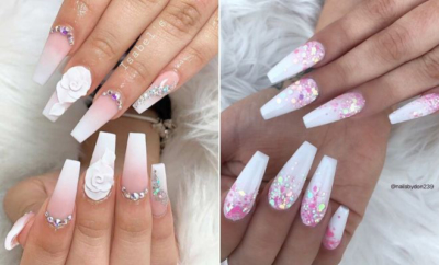 White Coffin Nails