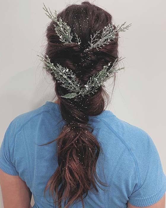 Winter Wonderland Hairstyle