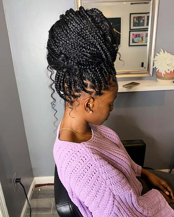 23 Ways To Wear And Style Knotless Braids Stayglam Black beauty bombshells is a participant in the amazon services llc associates program. style knotless braids