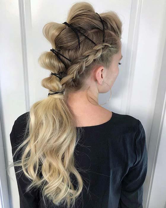 Edgy Formal Hair Idea