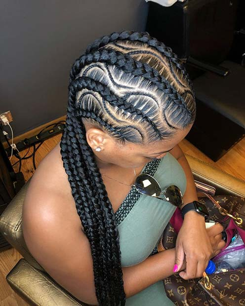 Feed In Braids and Waves