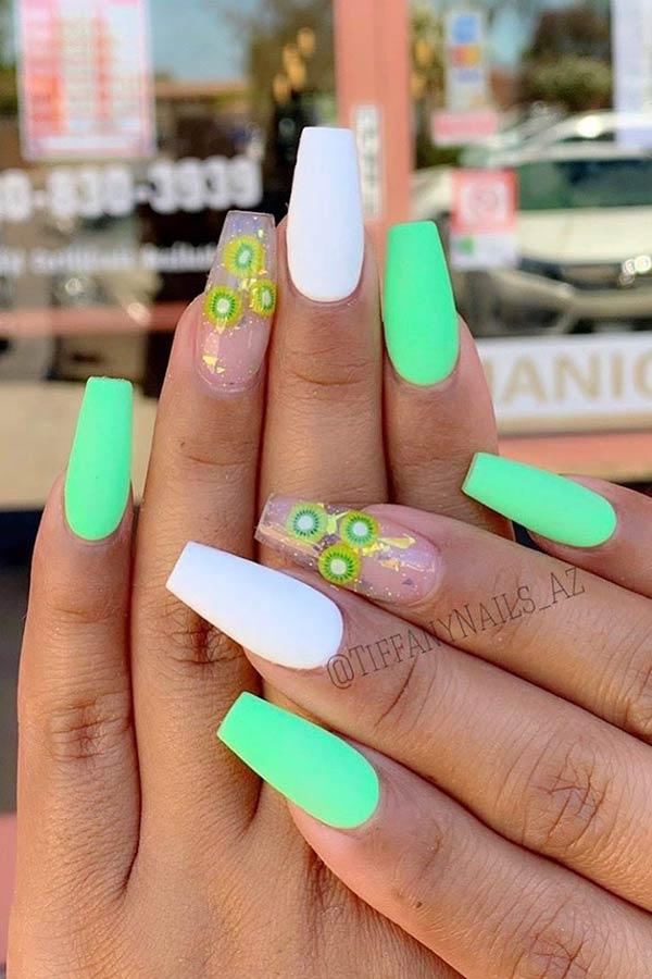 Fruit Nails for Summer