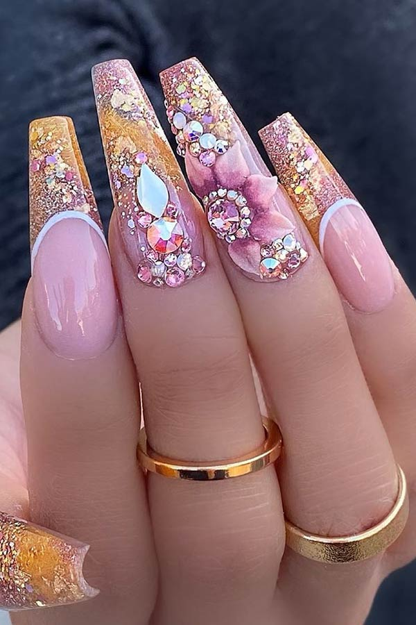 Most Beautiful Coffin Nails