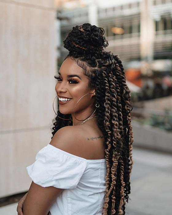 45 Gorgeous Passion Twists Hairstyles Page 4 Of 4 Stayglam