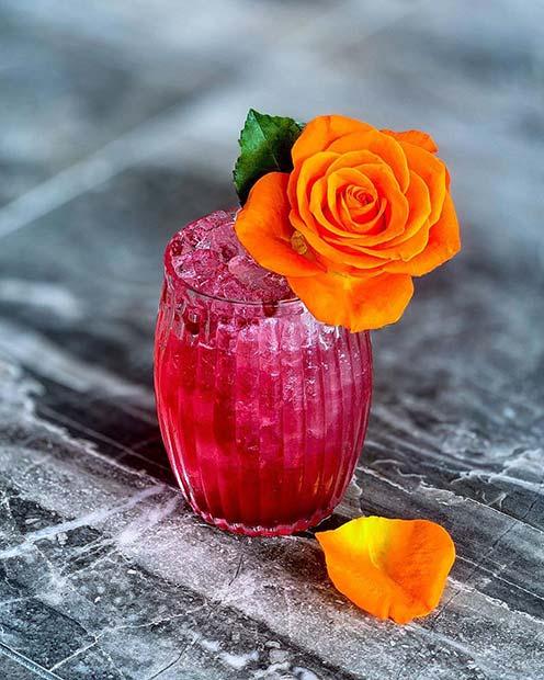 Vibrant Bittersweet Rose