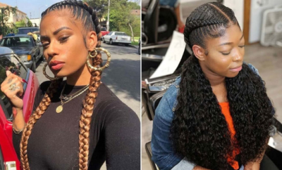 2 Feed in Braids