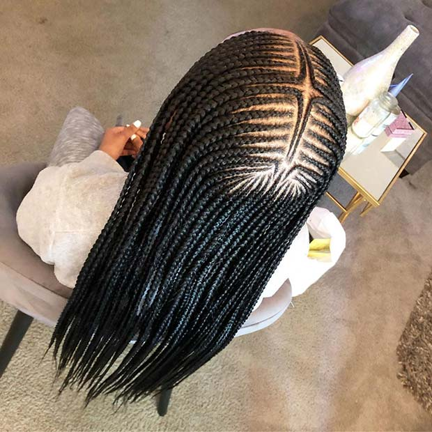 2 Layer Braids with a Gorgeous Pattern