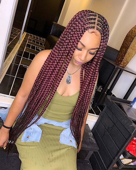 25 Cool Ways To Wear 2 Layer Braids This Season Page 2