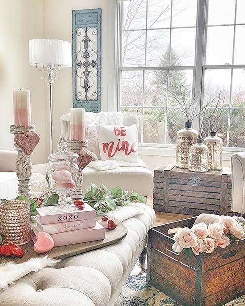 Chic Home Decor Idea for Valentine's Day