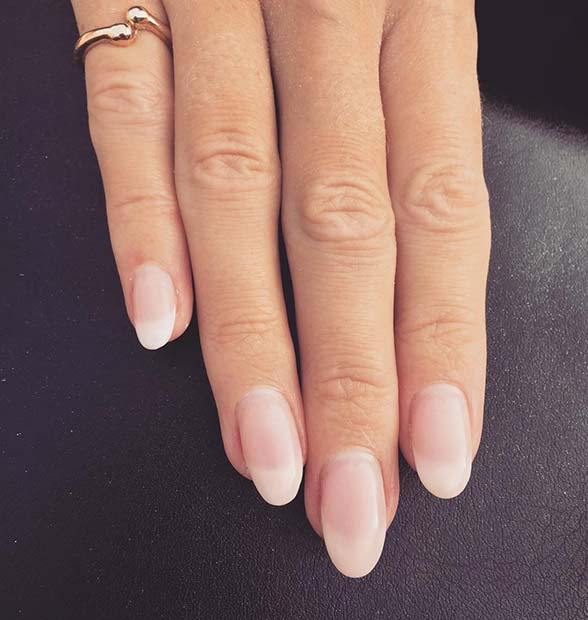 Classic American Manicure Idea