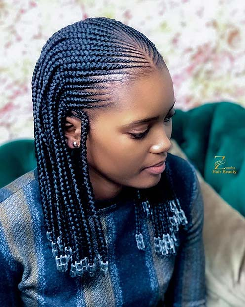 63 Badass Tribal Braids Hairstyles to Try | Page 6 of 6 | StayGlam