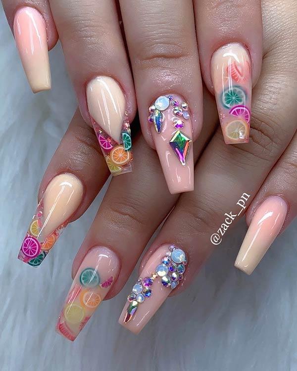 Cute Fruit Nails
