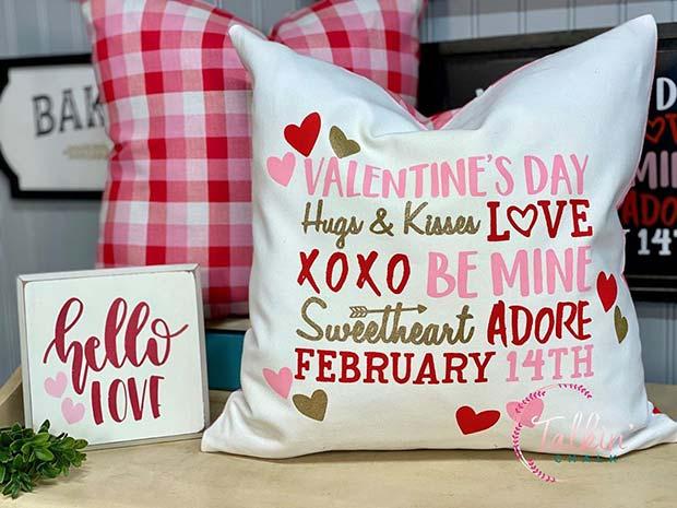 Cute Valentine's Day Cushions