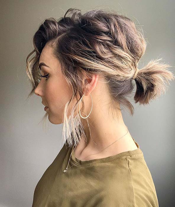 Cute and Short Ponytail