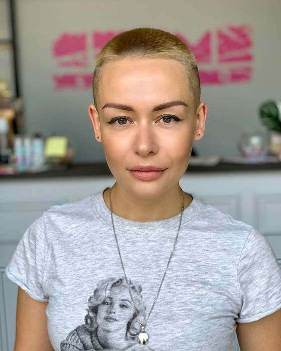 Edgy Shaved Hair