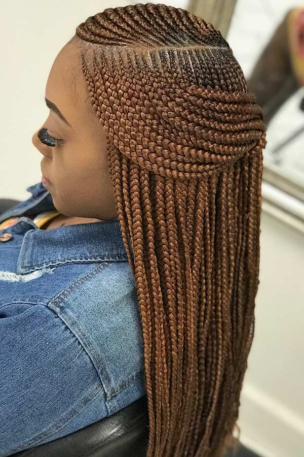 Feed in Two Layer Braids