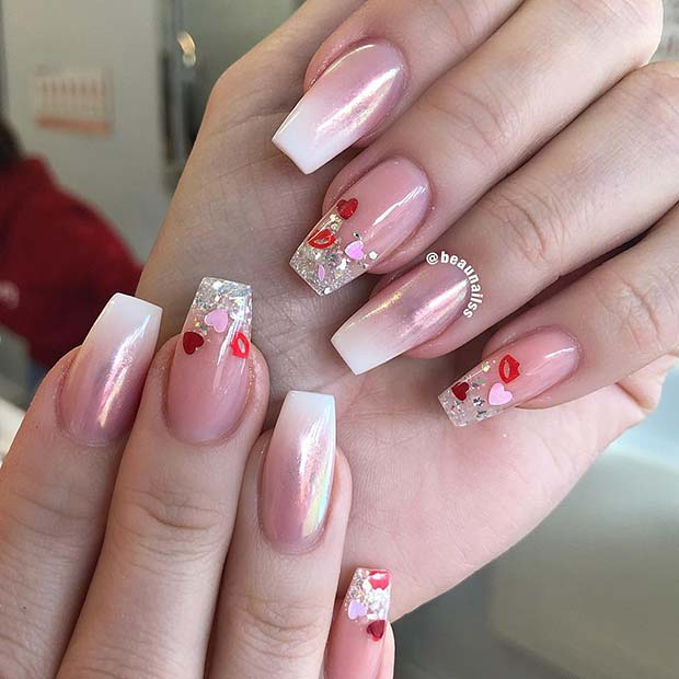 41 Cute Valentine's Day Nail Ideas For 2020