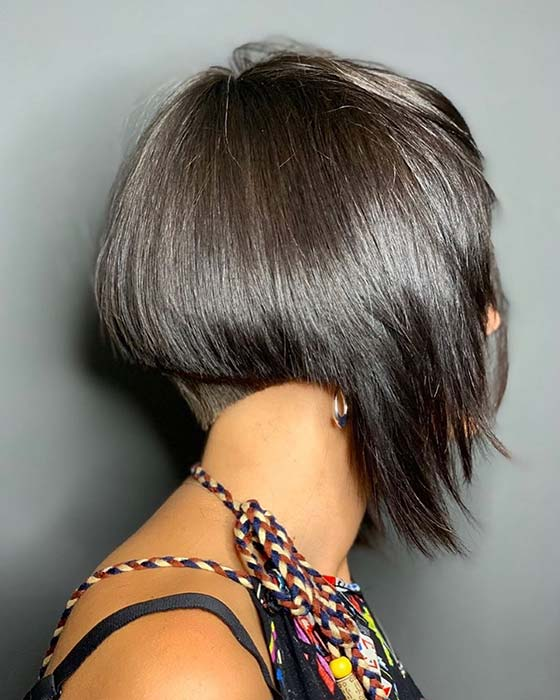 Modern and Trendy Hairstyle