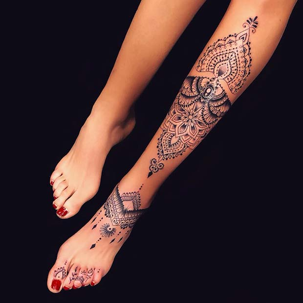 23 Sexy Leg Tattoos For Women You Ll Want To Copy Page 2 Of 2 Stayglam