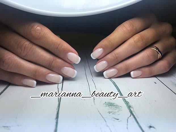 Simple American Manicure