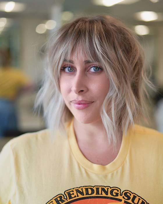 Textured and Beachy Hair Idea
