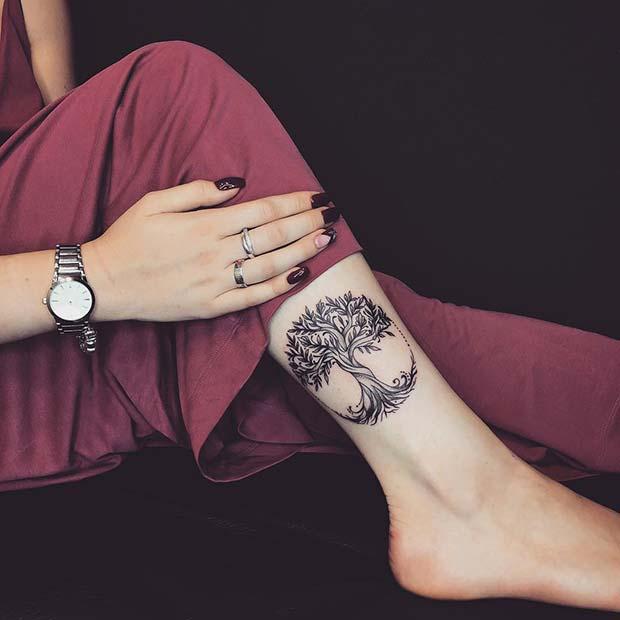 Tree of Life Leg Design