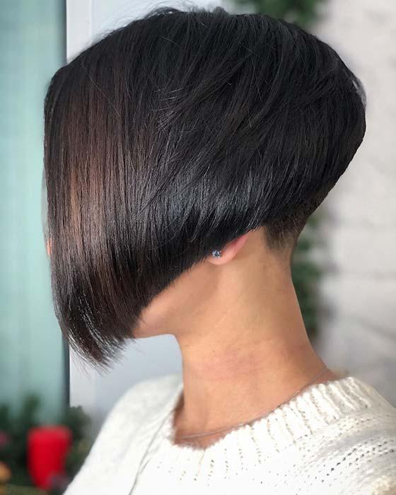 Unique Short Hair Idea