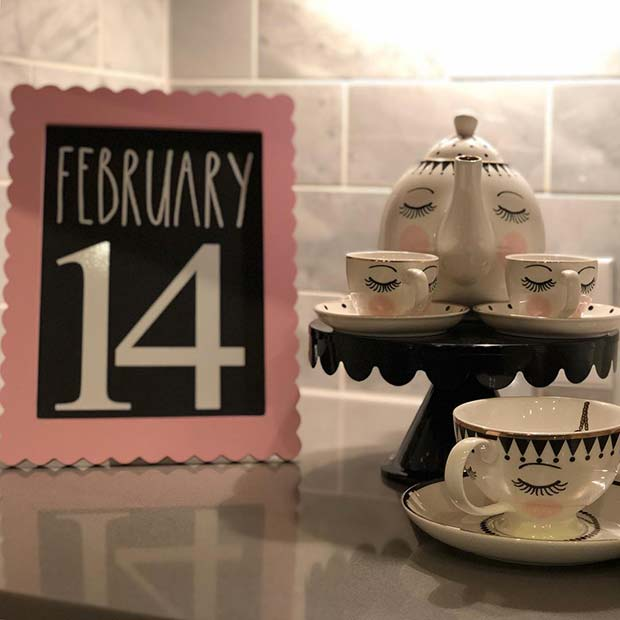 Valentine's Date Display