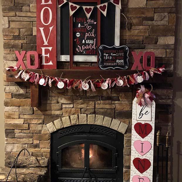 Valentine's Day Decor Idea