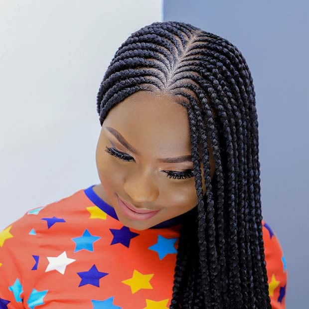 Layered Feed in Braids