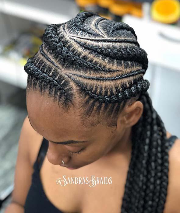 Beautiful Multi Braid Pattern
