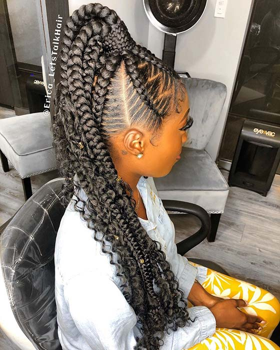 21 Bohemian Feed In Braids You Must See