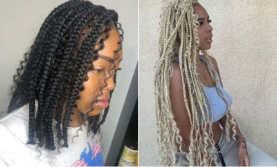 Braids with Curls