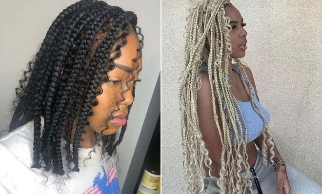 25 Gorgeous Braids With Curls That Turn Heads Stayglam