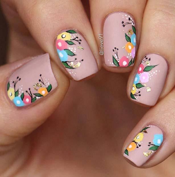 Bright Floral Art