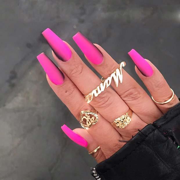 Burnt Neon Pink