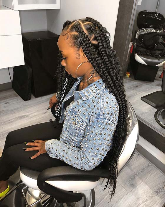 25 Gorgeous Braids With Curls That Turn Heads Page 2 Of