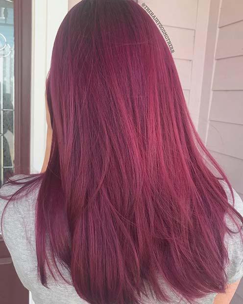 Midnight Rose Hair