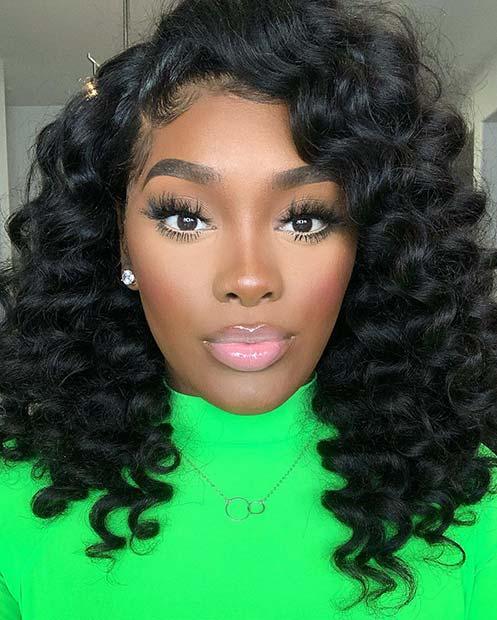Natural and Beautiful Makeup Idea
