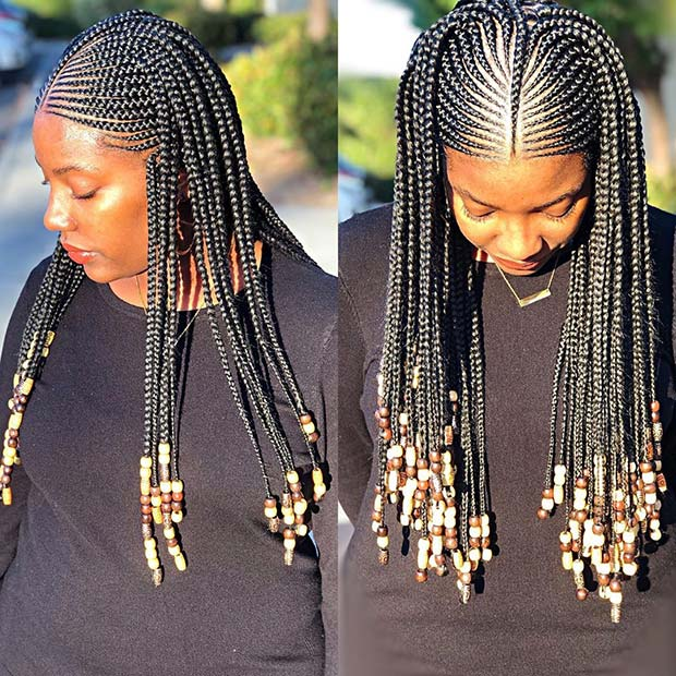 Simple and Long Braids