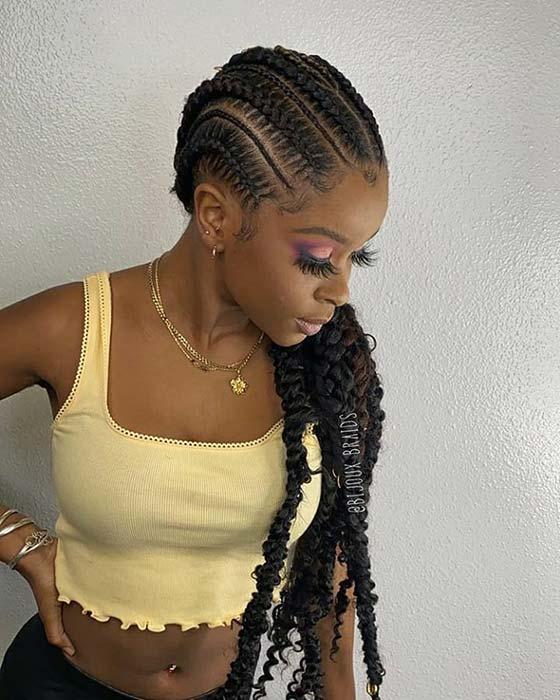 Simple and Stylish Boho Braids