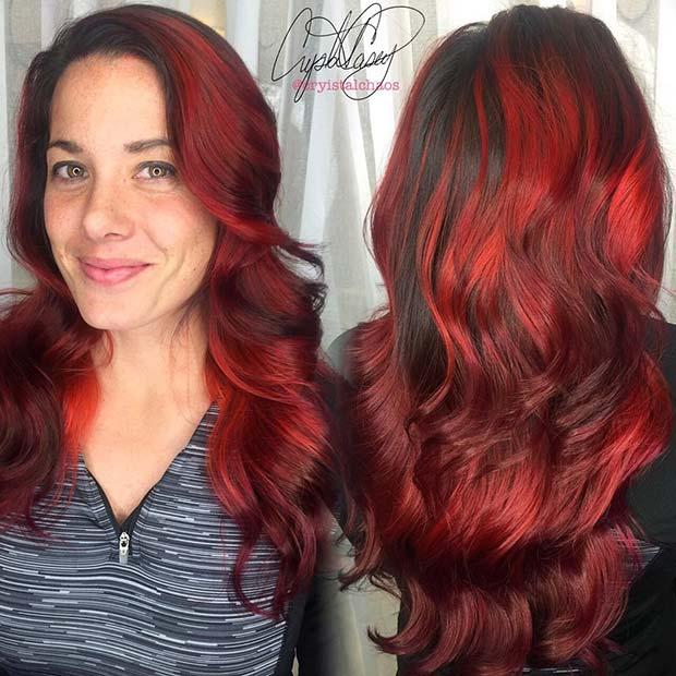 Statement Making Red Hair