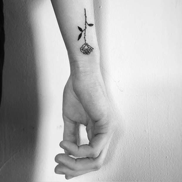 Tiny Wrist Tattoo