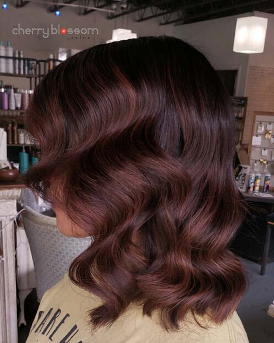 Beautiful Brown Hair Color Idea